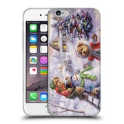 Official Christmas Mix Winter Wonderland Nicky Boehme Fun Loving Merriment Soft Gel Case for Apple iPhone 6 / 6s