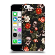 Official Burcu Korkmazyurek Skulls Floral Soft Gel Case for Apple iPhone 5c