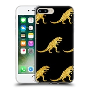 Official Chobopop Dinosaurs Golden T-Rex Soft Gel Case for Apple iPhone 7 Plus