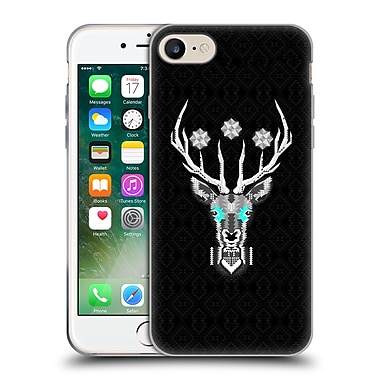 Official Chobopop Animals Silver Stag Soft Gel Case for Apple iPhone 7