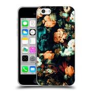 Official Burcu Korkmazyurek Floral 2 Vintage Soft Gel Case for Apple iPhone 5c