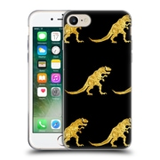 Official Chobopop Dinosaurs Golden T-Rex Soft Gel Case for Apple iPhone 7