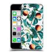 Official Burcu Korkmazyurek Tropical Fruit And Leaf Soft Gel Case for Apple iPhone 5c