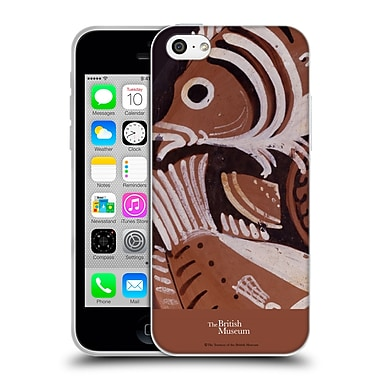 Official British Museum Images and Objects Greek Vase Fish Soft Gel Case for Apple iPhone 5c
