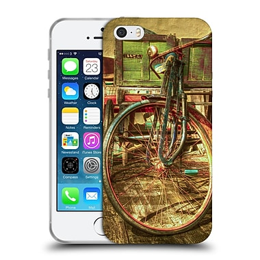 Official Celebrate Life Gallery Bicycle Ol' Rusty Soft Gel Case for Apple iPhone 5 / 5s / SE