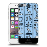 Official British Museum Ancient Egypt Blue Hieroglyphics Soft Gel Case for Apple iPhone 6 / 6s