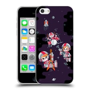 Official Chobopop Illustrations Space Rock Soft Gel Case for Apple iPhone 5c