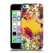 Official Burcu Korkmazyurek Tropical Multicolour Soft Gel Case for Apple iPhone 5c