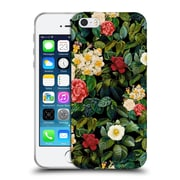 Official Burcu Korkmazyurek Floral 2 Night Forest VIII Soft Gel Case for Apple iPhone 5 / 5s / SE