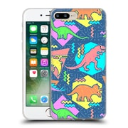 Official Chobopop Dinosaurs 90's Pattern Soft Gel Case for Apple iPhone 7 Plus