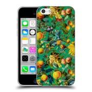 Official Burcu Korkmazyurek Tropical Fruit Pattern Soft Gel Case for Apple iPhone 5c