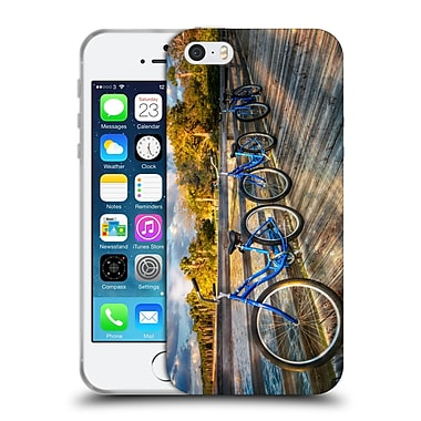 Official Celebrate Life Gallery Bicycle Ready To Ride Soft Gel Case for Apple iPhone 5 / 5s / SE