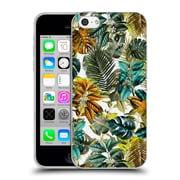 Official Burcu Korkmazyurek Tropical Garden Soft Gel Case for Apple iPhone 5c