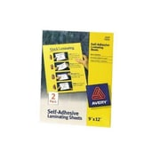 Merchandise 9 x 12 Laminating Sheets, 2 Count (MCDS22524)