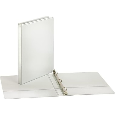 Tops Brands 0.68 in. Cardinal Performer ClearVue Round Ring Binder, White (DGL358)