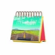 Dayspring Cards Calendar-Live It Out - Day Brightener (ANCRD68447)