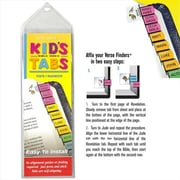 G T Luscombe Bible Tab Verse Finders Horizontal Thin Pack Kids Tab (ANCRD30189)