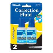 Bulk Buys BAZIC 20ml / 0.7 fl. oz. Correction Fluid (2/Pack) Case Of 24 (DLRDY240927)