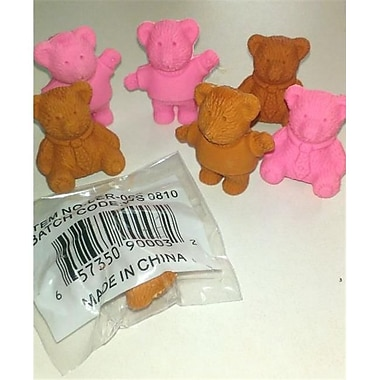 DDI Closeout Teddy Bear Fun Bonanza Eraser, Case of 1152 (DLR58551)