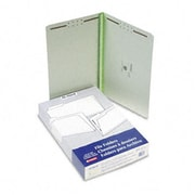 Esselte Pendaflex Pressboard Folders with two 2 Cap Fasteners Legal Green 25/box (AZRESS17185)