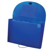 C-Line Products Ecological 7-Pocket Letter Size Expanding File Blue - Set of 4 Files (CLNP157)
