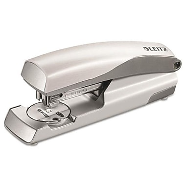 Leitz Nexxt Series Style Metal Stapler, Full-Strip, 40-Sheet Capacity, White (AZTY09044)