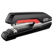 Rapid Supreme S17 SuperFlatClinch Full Strip Stapler, 30 Sheet Capacity - Black & Red (AZTY11635)