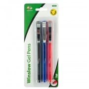 Kole Imports Capped Gel Pens with Metal Clips, 48 Piece (KOLIM81598)