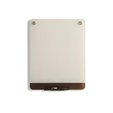 Iceberg Enterprise Clarity Glass Personal Dry Erase Boards, Ultra-White Backing - 12 x 16 in. (AZTY07111)