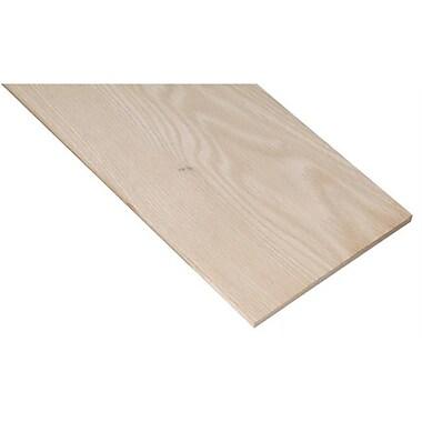 Waddell Mfg. .50in. X 3-.50in. X 48in. Poplar Project Board (JNSN20368)