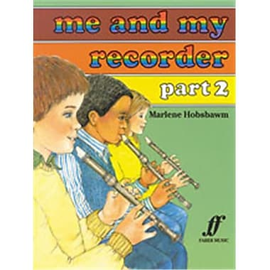 Alfred Me and My Recorder- Part 2 - Music Book (ALFRD45870)