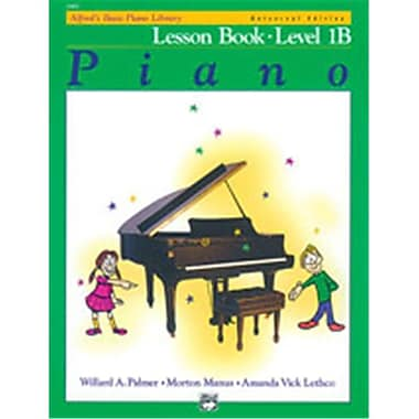 Alfred Basic Piano Course- Universal Edition Lesson Book 1B - Music Book (ALFRD40810)