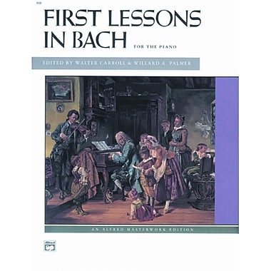 Alfred First Lessons in Bach - Music Book (ALFRD42936)