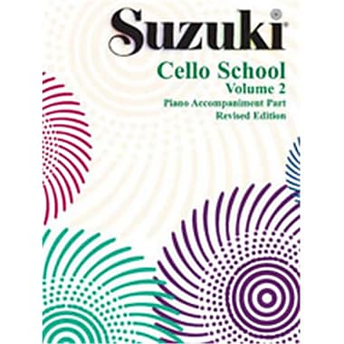 Alfred Suzuki Cello School Piano Acc.- Volume 2 - Music Book (ALFRD46447)