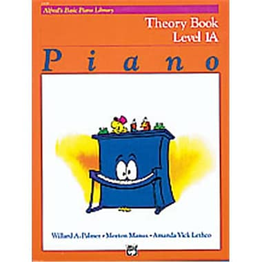 Alfred Basic Piano Course- Theory Book 1A - Music Book (ALFRD40706)