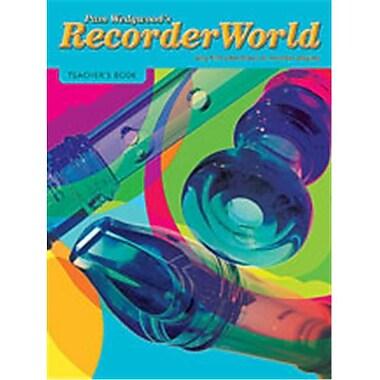 Alfred RecorderWorld Teacher s Book - Music Book (ALFRD45873)