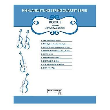 Alfred Highland-Etling Violin Quartet Series- Set 3 - Music Book (ALFRD46725)