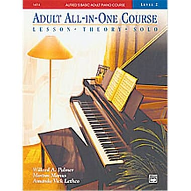 Alfred Basic Adult All-in-One Piano Course- Book 2 - Music Book (ALFRD40519)