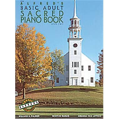 Alfred Basic Adult Piano Course- Sacred Book 2 - Music Book (ALFRD40558)