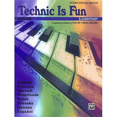 Alfred Technic Is Fun- International Edition- Book 1 - Music Book (ALFRD41413)
