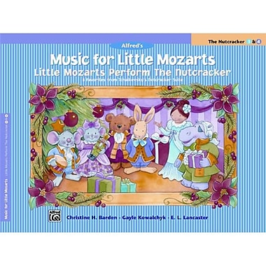 Alfred Music for Little Mozarts- Little Mozarts Perform the Nutcracker - Music Book (ALFRD41534)
