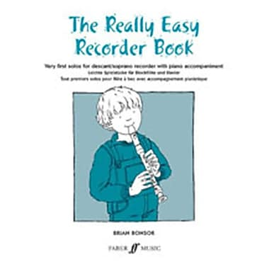 Alfred The Really Easy Recorder Book - Music Book (ALFRD45850)