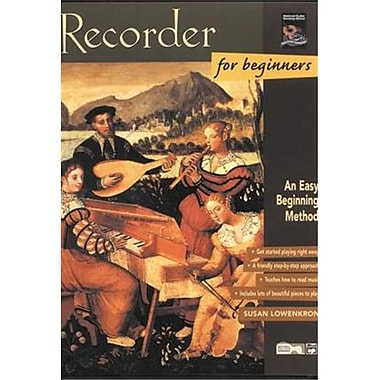 Alfred Recorder for Beginners - Music Book (ALFRD45859)