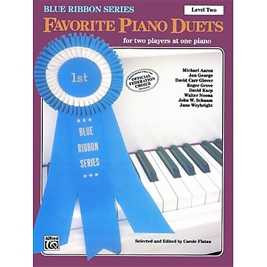Alfred The Blue Ribbon Series- Favorite Piano Duets- Level 2- Volume 1 - Music Book (ALFRD43961)