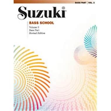 Alfred Suzuki Bass School Bass Part- Volume 3 - Music Book (ALFRD46421)