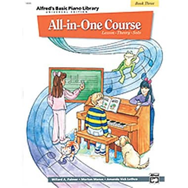 Alfred Basic All-in-One Course for Children Universal Edition- Book 3 - Music Book (ALFRD40572)