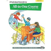 Alfred Basic All-in-One Course for Children Universal Edition- Book 2 - Music Book (ALFRD40571)