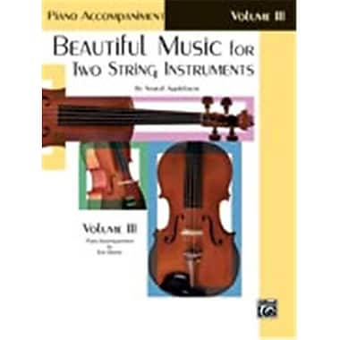 Alfred Beautiful Music for Two String Instruments- Book III - Music Book (ALFRD48333)