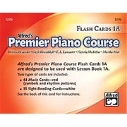 Alfred Premier Piano Course- Flash Cards- Level 1A - Music Book (ALFRD40900)