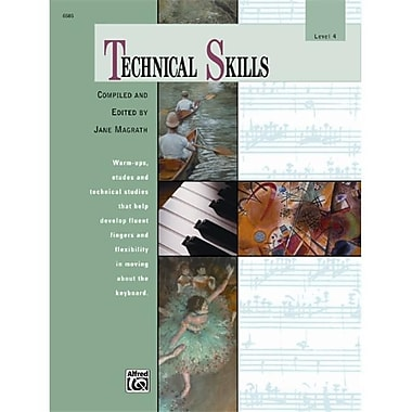 Alfred Technical Skills- Level 4 - Music Book (ALFRD43071)
